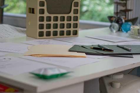 redoing the paperwork