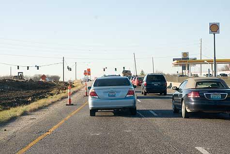 last stoplight highway 64