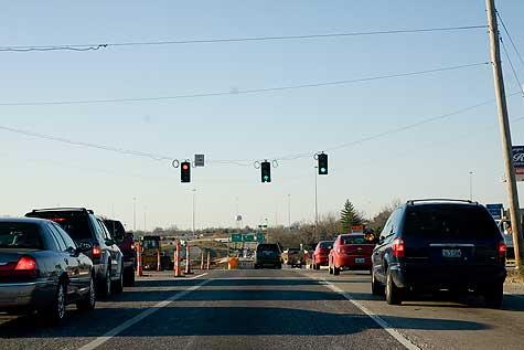 callahan road stoplight