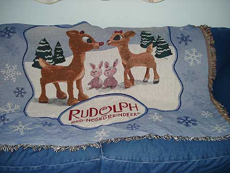 rudolph blanket