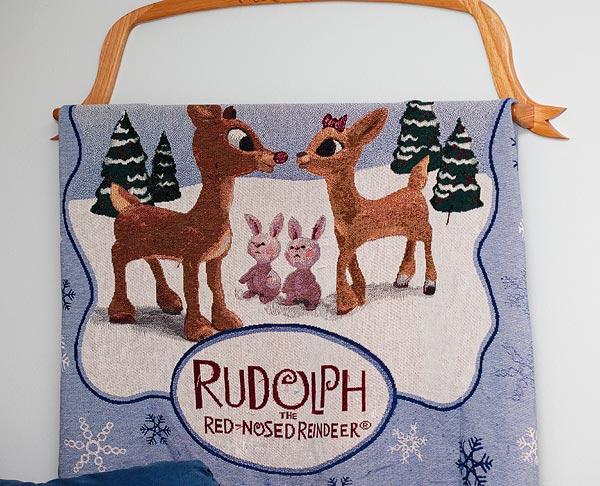 Rudolph-blanket