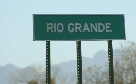 rio grande sign