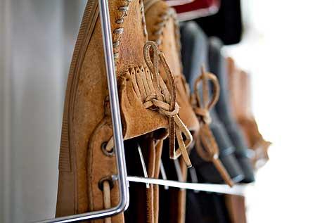 minnetonka moccasins in closet
