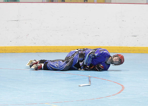 roller hockey injury