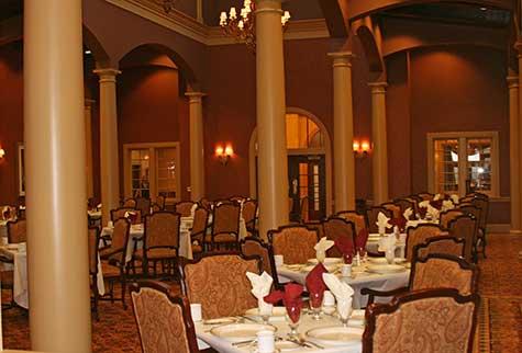 santa marta dining room