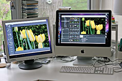 imac and second monitor