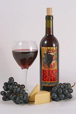 wine product shot