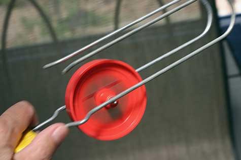 wheel spinning on wheelo