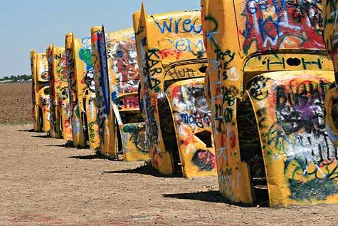 cadillac ranch cars