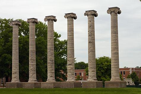 University of Missouri Columbia columns