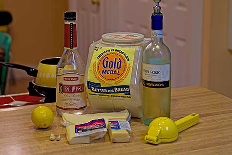 swiss fondue ingredients