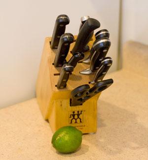 henckel knife block