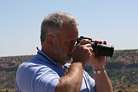 Taking pictures of Palo Duro Canyon