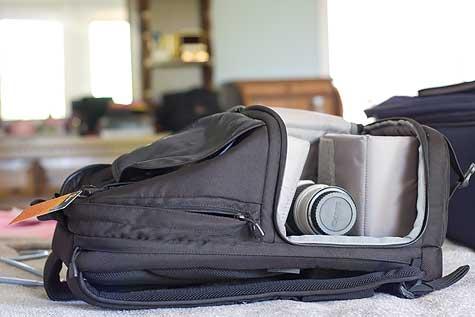 camera case backpack