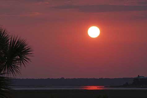chere sunset
