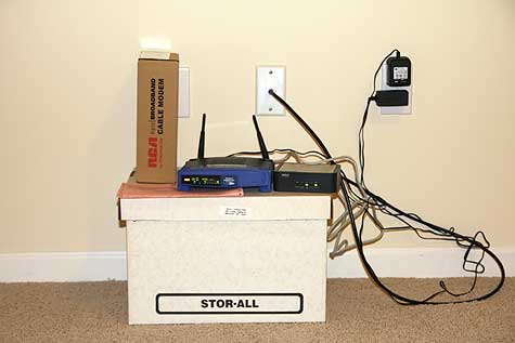 broadband setup