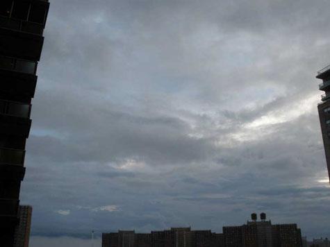 storm over skyline