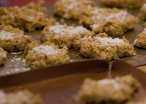flatten cookies