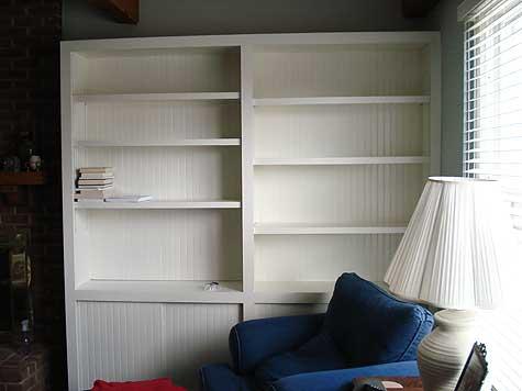 homemade bookcase