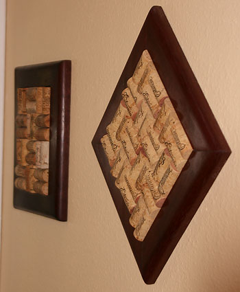 trivets on wall