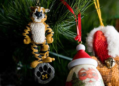 Mizzou Tiger Ornament
