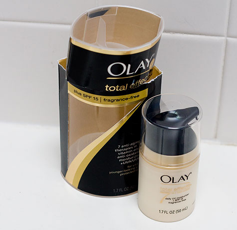 oil of olay packaging