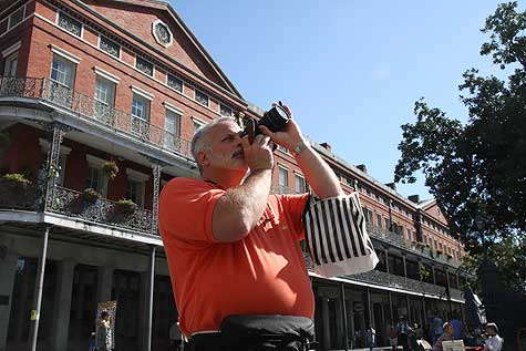 photographing New Orleans