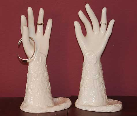 second porcelain hand