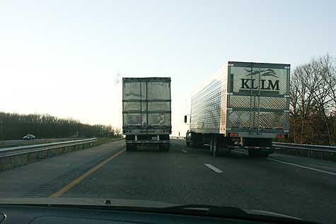 side by side trucks