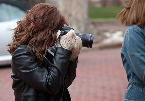 photography in the cold
