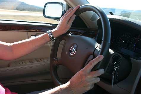 kacey driving