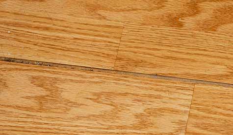 laminate floor crack