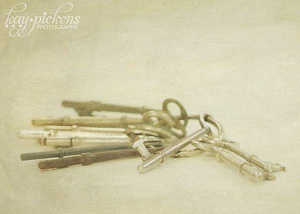 textured keys
