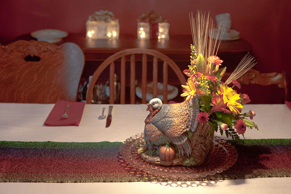 thanksgiving vase