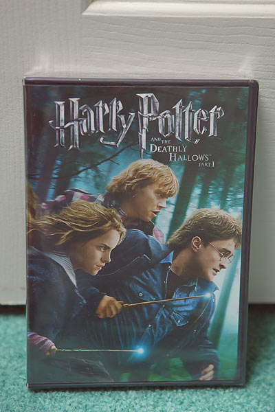 harry potter movie dvd