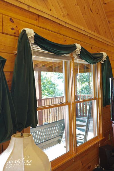 green velvet Tara curtains