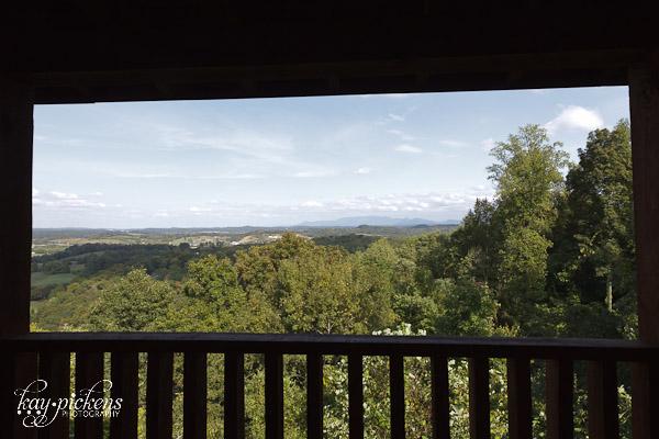 view of the Smoky Mountains Gatlinburg TN