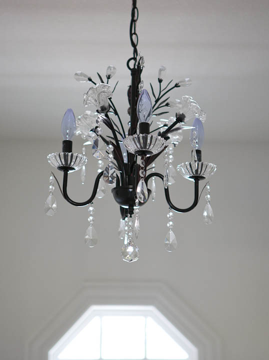 pantry chandelier