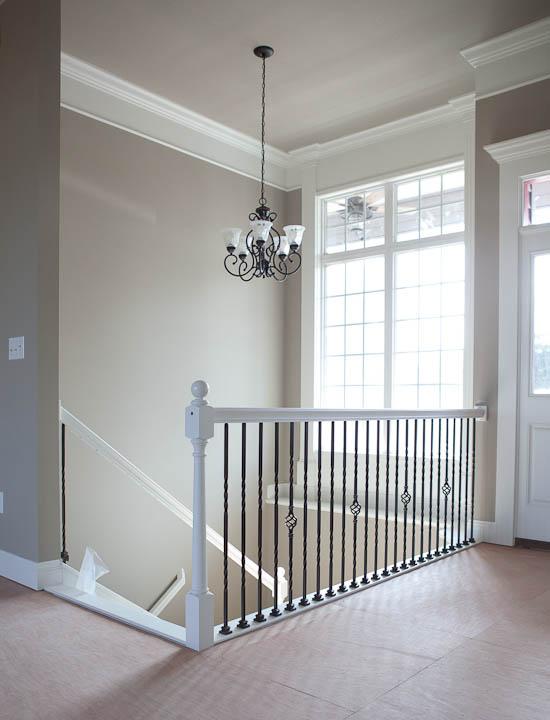 stairway chandelier