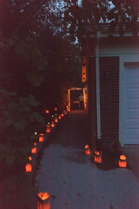 luminary walkway