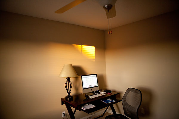 sunlight in office