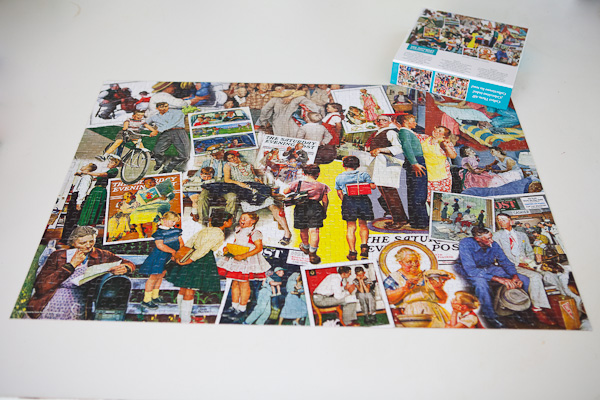 Norman Rockwell jigsaw puzzle