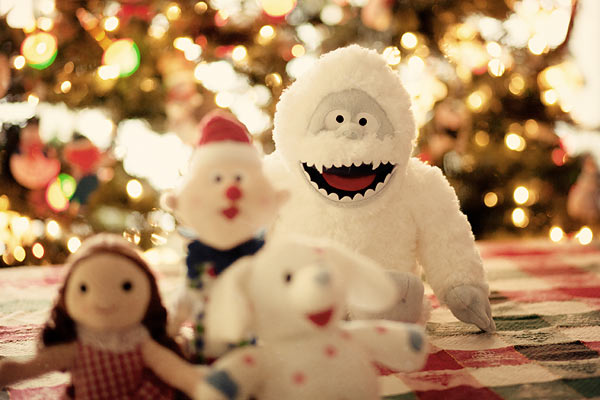 Abominable Snowman and misfit toys