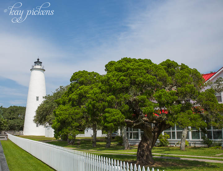 ocracke lighthouse outer banks photography