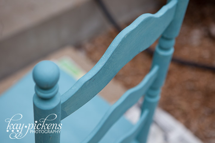 annie sloan chalk paint chair