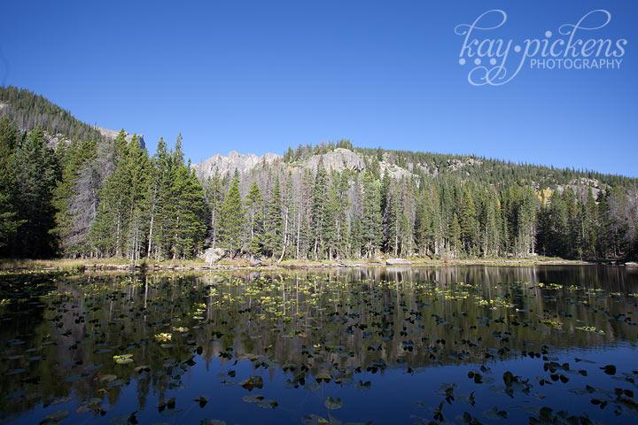 Nymph Lake Rocky Mountain National Park