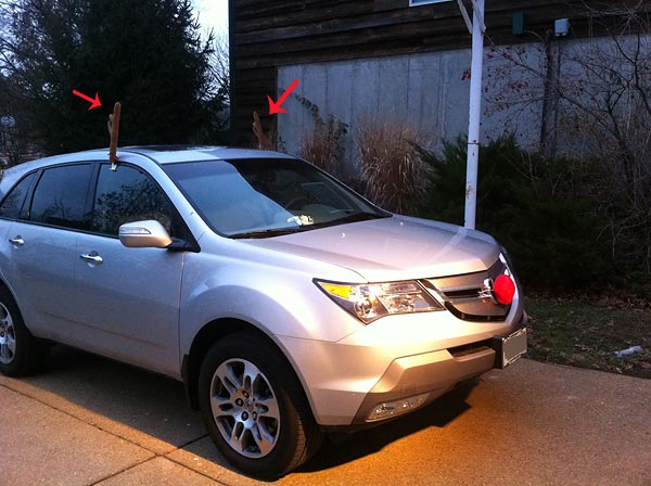 Rudolph for you Car