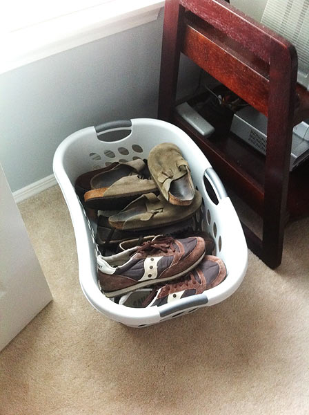 shoe-basket