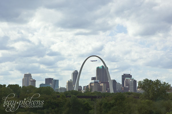 gateway to the west-St. Louis arch