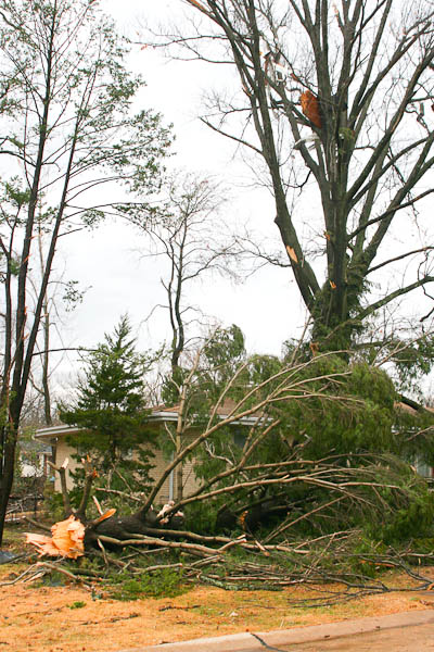 sunset hills tornado Dec 31, 2010